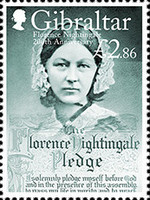 [The 200th Anniversary of the Birth of Florence Nightingale, 1820-1910, Typ BPF]