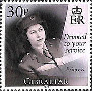 [The 95th Anniversary of the Birth of Her Royal Majesty Queen Elizabeth II, type BQJ]
