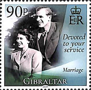 [The 95th Anniversary of the Birth of Her Royal Majesty Queen Elizabeth II, type BQL]