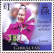[The 95th Anniversary of the Birth of Her Royal Majesty Queen Elizabeth II, type BQM]