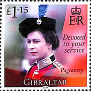 [The 95th Anniversary of the Birth of Her Royal Majesty Queen Elizabeth II, type BQN]