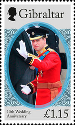 [The 10th Wedding Anniversary of Prince William and Kate Middleton, type BQQ]