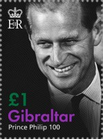 [In Memoriam and the 100th Anniversary of the Birth of Prince Philip, 1921-2021, type BQW]