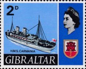 [New Daily Stamps - Ships, type CC]