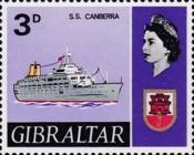 [New Daily Stamps - Ships, type CE]