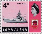 [New Daily Stamps - Ships, type CF]
