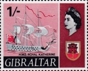 [New Daily Stamps - Ships, type CJ]