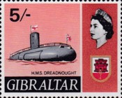 [New Daily Stamps - Ships, type CL]