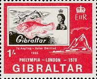 [Stamp Exhibition Philympia 1970, type DY]