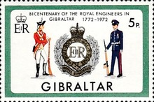 [The 200th Anniversary of the Royal Engineers in Gibraltar, type FT]