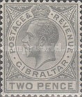 [King George V - Different Watermark, type J10]