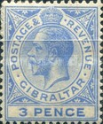 [King George V - Different Watermark, type J13]