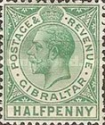 [King George V - Different Watermark, type J7]