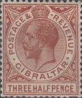 [King George V - Different Watermark, type J9]