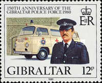 [The 150th Anniversary of the Gibraltar Police Force, type JV]