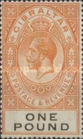 [King George V - Different Watermark, type K10]