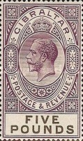 [King George V - Different Watermark, type K11]