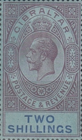 [King George V - Different Watermark, type K4]