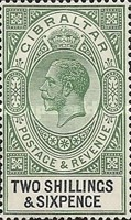 [King George V - Different Watermark, type K5]