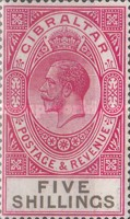 [King George V - Different Watermark, type K7]