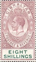 [King George V - Different Watermark, type K8]