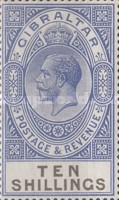 [King George V - Different Watermark, type K9]