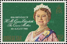 [The 80th Anniversary of the Birth of Queen Elizabeth, type KA]