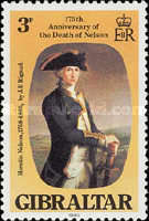 [The 175th Anniversary of the Death of Lord Nelson, type KB]