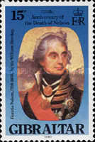 [The 175th Anniversary of the Death of Lord Nelson, type KD]