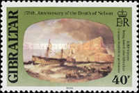 [The 175th Anniversary of the Death of Lord Nelson, type KE]