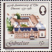 [The 450th Anniversary of the Convent, type KM]