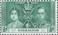 [King George VI Coronation, type O]