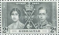 [King George VI Coronation, type O1]