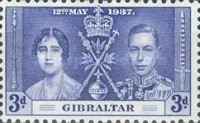 [King George VI Coronation, type O2]
