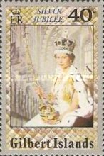 [The 25th Anniversary of the Regency of Queen Elizabeth II, Typ AD]