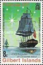 [Christmas and the 200th Anniversary of Captain Cook's Discovery of Christmas Islands, Typ AI]