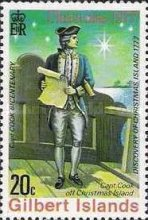 [Christmas and the 200th Anniversary of Captain Cook's Discovery of Christmas Islands, Typ AK]
