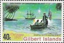 [Christmas and the 200th Anniversary of Captain Cook's Discovery of Christmas Islands, Typ AL]