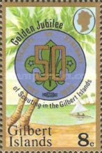 [The 50th Anniversary of Scouting in the Gilbert Islands, Typ AM]