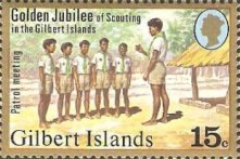 [The 50th Anniversary of Scouting in the Gilbert Islands, Typ AN]