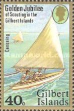 [The 50th Anniversary of Scouting in the Gilbert Islands, Typ AP]