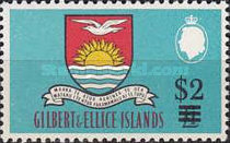 [Decimal Currency - Issues of 1965 Surcharged, type BL1]