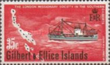 [The 100th Anniversary of Landing in Gilbert Islands by London Missionary Society, type DT]