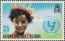 [The 25th Anniversary of UNICEF, type ET]