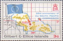 [The 25th Anniversary of South Pacific Commission, type EU]
