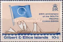 [The 25th Anniversary of South Pacific Commission, type EV]
