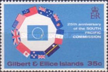 [The 25th Anniversary of South Pacific Commission, type EW]