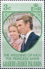 [The Royal Wedding of Princess Anne with Mark Phillips, type FN]