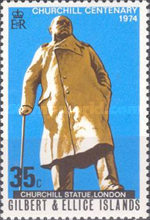 [The 100th Anniversary of the Birth of Sir Winston Churchill, 1874-1965, type GG]