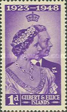 [The 25th Anniversary of the Wedding of King George The Sixth and Queen Elizabeth, type T]